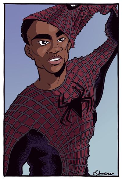 Donald Glover as Spider-Man! - chrisschweizer