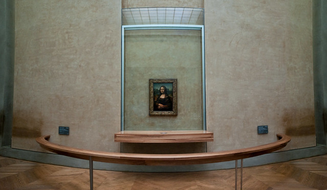 Portrait Of Lisa Gherardini Wife Of Francesco Del