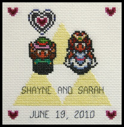 Rashawns blog this link zelda wedding cake topper may be of wedding invitation direction card stopboris Choice Image