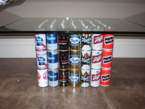 Beer Can Coffee Table