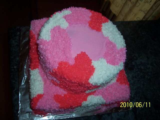 baby shower cake pink camo top view by carla 39 s cakes flickr