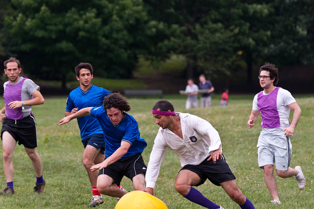 Come Out and Play - Circle Rules Football