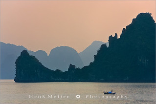 The lonely Sailor at Halong Bay - Vietnam