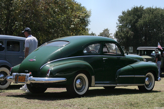 1948 gm cars of the day lord k for 1948 oldsmobile 4 door sedan
