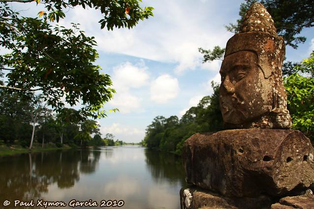 Moat, Angkor Thom