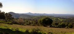 Vistas de las minas del Castillo desde El Buitrón