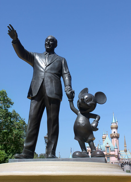 Walt Disney Statue Flickr Photo Sharing