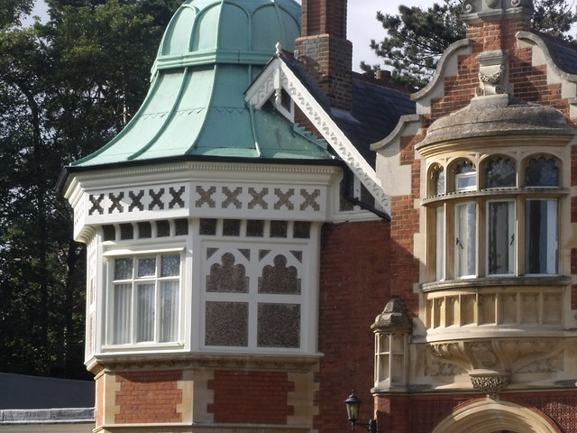 Bletchley Park House Mansion Copper Dome Flickr