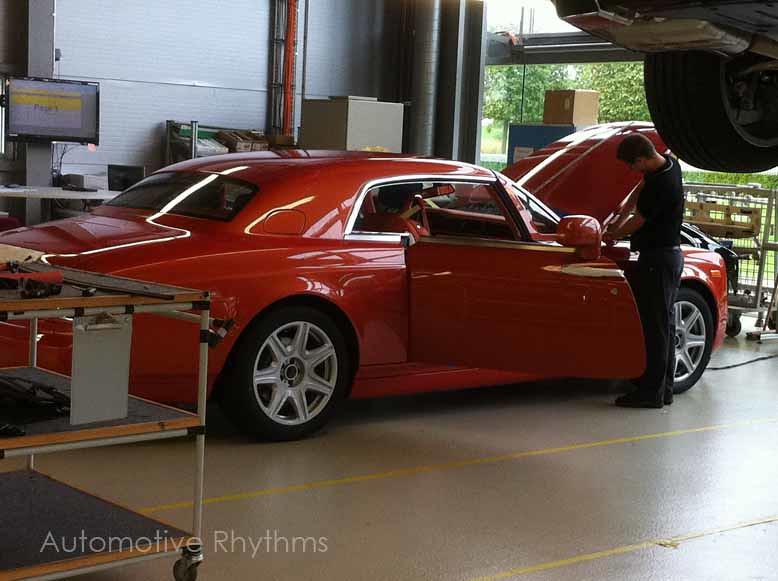 Rolls-Royce Factory Tour in Goodwood