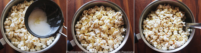 How to make Butter popcorn recipe - Step5