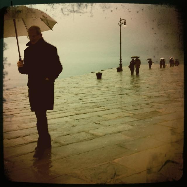 Audace, the wind & the rain