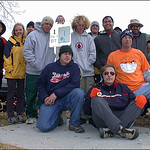 A good turnout for Ft. Morgan Mini Ice Bowl, January 31, 2004.
