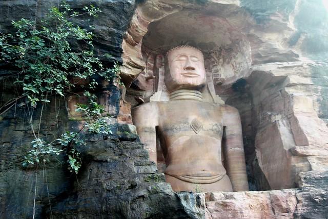 Gwalior Fort Rock Sculptures