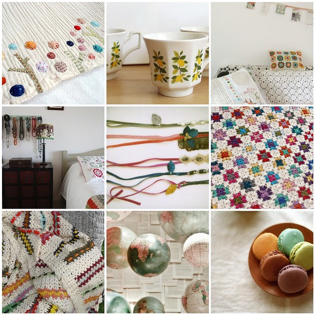 getting cosy for the weekend, Flickr mosaic curated by Emma Lamb