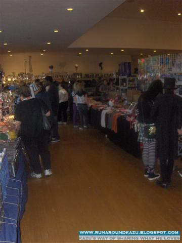 The right side of the Vendor's Room In Opposite View