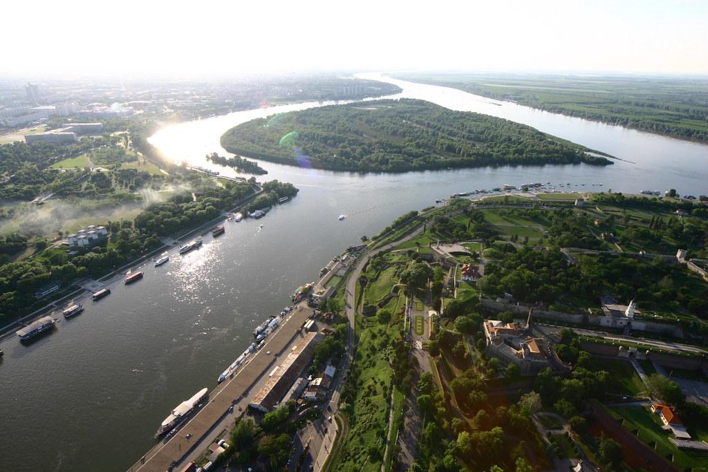 Sava and Danube - Belgrade, Serbia