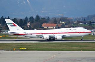United Arab Emirates (Abu Dhabi Amiri Flight) Boeing 747-4F6; A6-YAS@GVA;25.03.2007/456gr