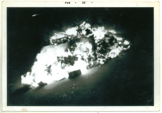 NYC garbage strike fire 1968