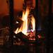 The fireplace by Hugo Dechesne
