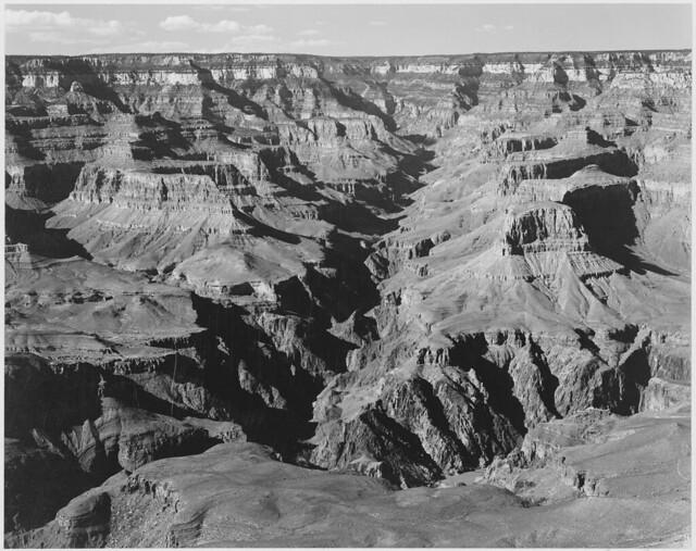 "Lighter shadows, ""Grand Canyon National Park,"" Arizona"
