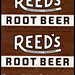 Reed's - Root Beer candy roll wrapper - 1970's