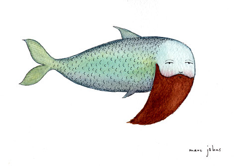 fish with beard