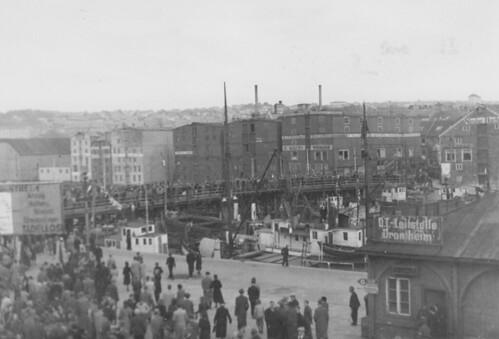 O.T.-Leitstelle Drontheim ved Trondheim Sentralstasjon (1945)