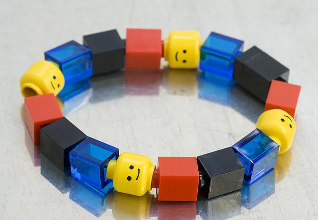 1x1 kids LEGO bracelet | Flickr - Photo Sharing!