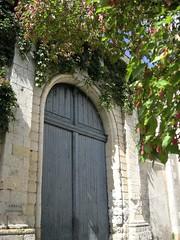 Entrée Abbaye de Solesmes