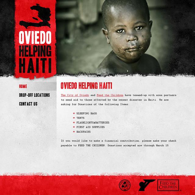 Oviedo Helping Haiti