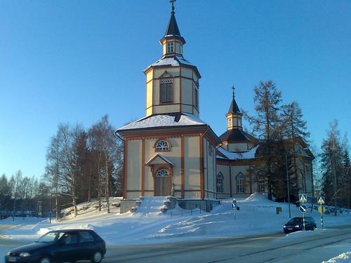 shozu church finland geotagged n80 kannus geo:lon=2391579 geo:lat=6390138