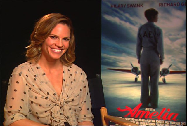 Header of Hilary Swank