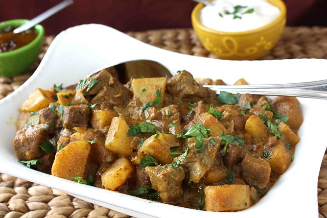 Mum's Savory Beef & Potato Curry Recipe | This versatile rec ...