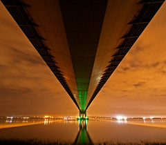 Under the Humber Bridge by craig h1