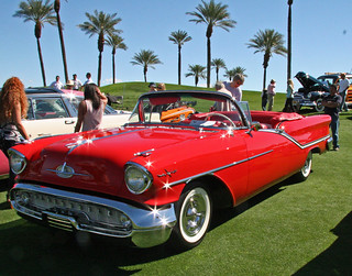Oldsmobile 98 convertible 1957