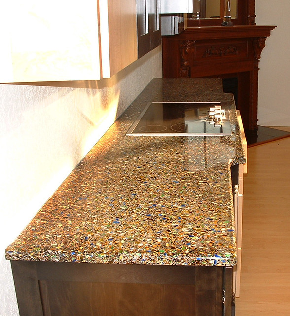 Alternatives To Granite Countertops : Vetrazzo alternative to granite countertops (152) Flickr - Photo ...