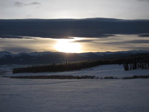 sunrise rockies colorado rockymountains xcskiing crosscountryskiing ymcaoftherockies snowmountainranch hcic hcic2010