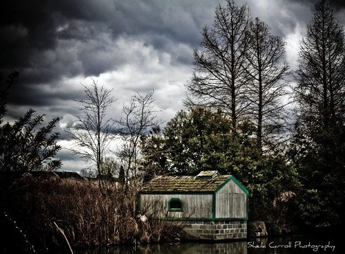 boat house...
