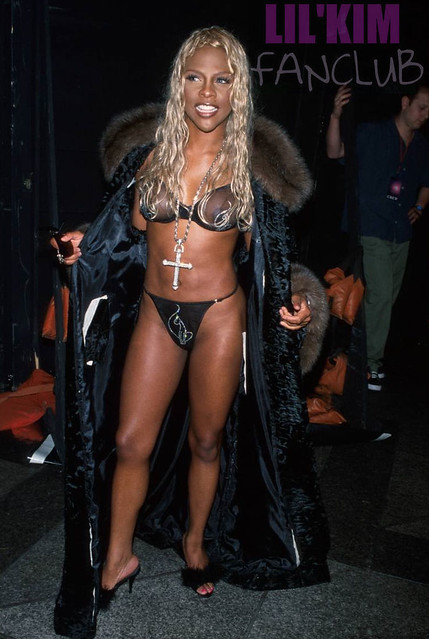"""LIL' KIM AND JANICE COMBS AT """"BABY PHAT"""" FASHION SHOW ..."""