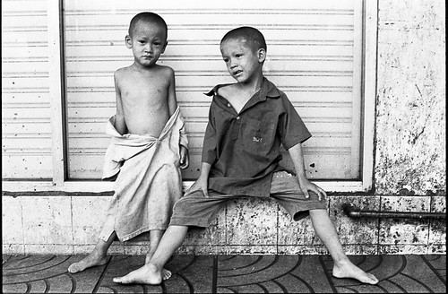 Young Boys in Chinatown 1910 - Bangkok, city of angels