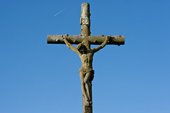 symbol, sculpture, crucifix, cross,