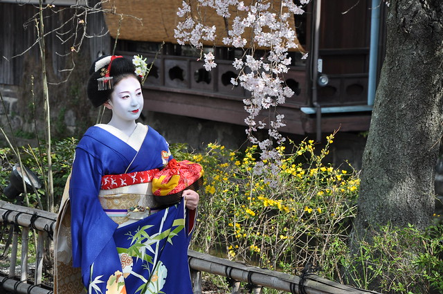 Header of a geisha