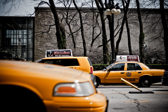 cabs on parade