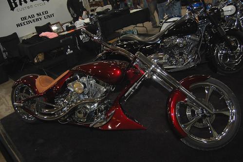 A BADD Custom Motorcycle