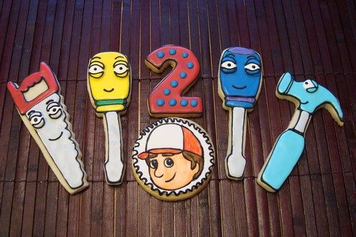 Handy Manny Cookies