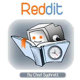 Reddit Logo-Concept by Chad-Syphrett   Make sure you add me