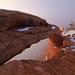 Mesa Arch - Fog, Canyonlands National Park, Utah, United States by Xindaan