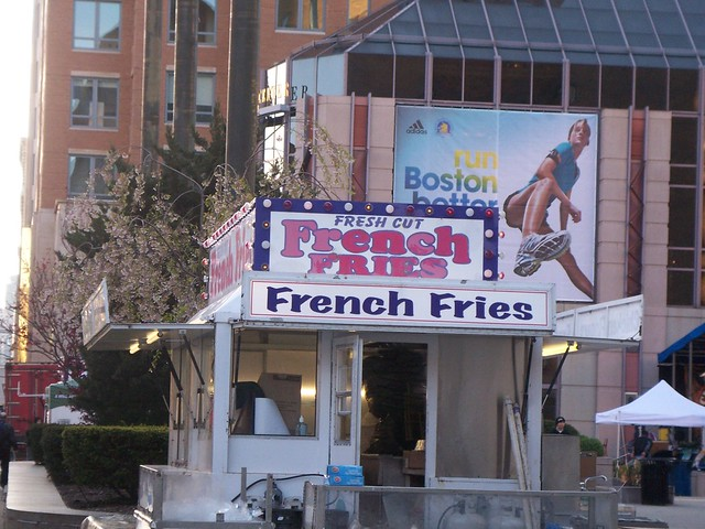 run boston better/french fries