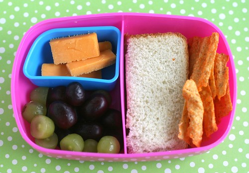 preschool bento with forgotten puzzle piece!