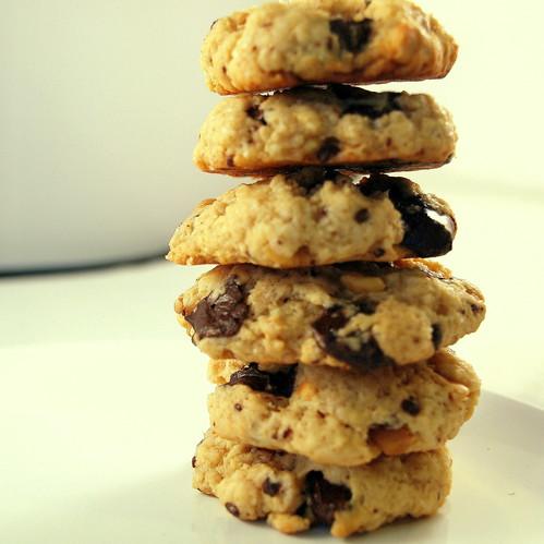 schoko erdnuss cookies rezepte suchen. Black Bedroom Furniture Sets. Home Design Ideas